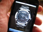 Itouch en main et Catalogue Montre Rolex