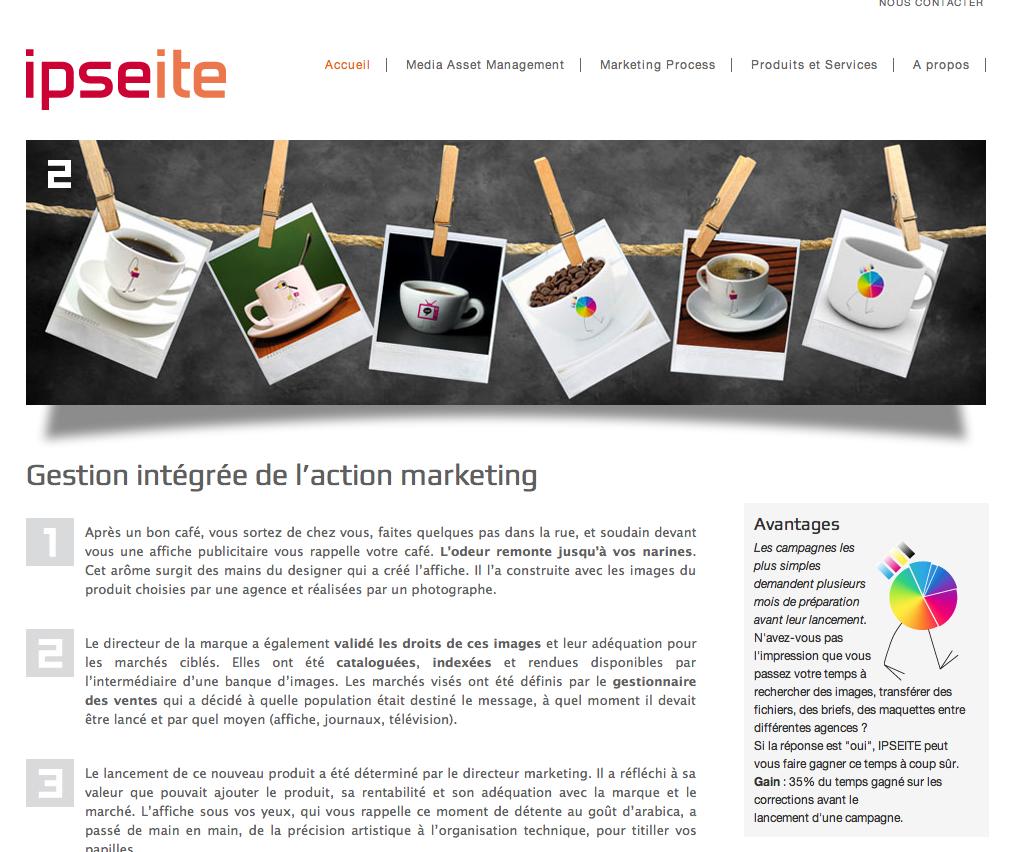 page web ipseite